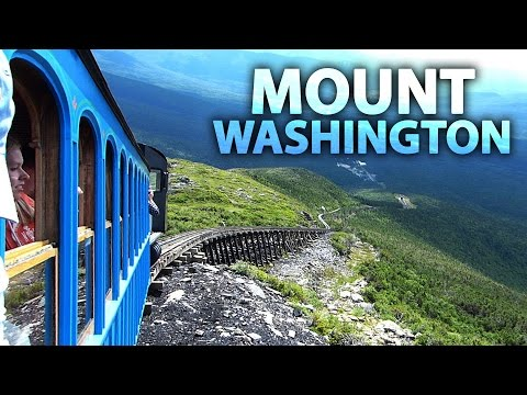 Cog Railway To The Summit Of MOUNT WASHINGTON
