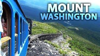 Cog Railway To The Summit Of MOUNT WASHINGTON