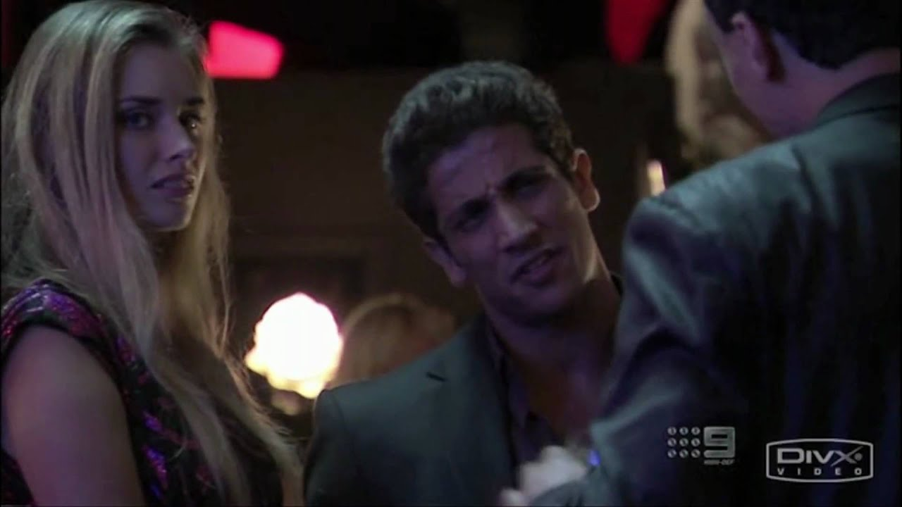 Underbelly 3 The Golden Mile Dk Meets John Ibrahim In A Bar You