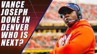 Vance Joseph Fired by Denver Broncos