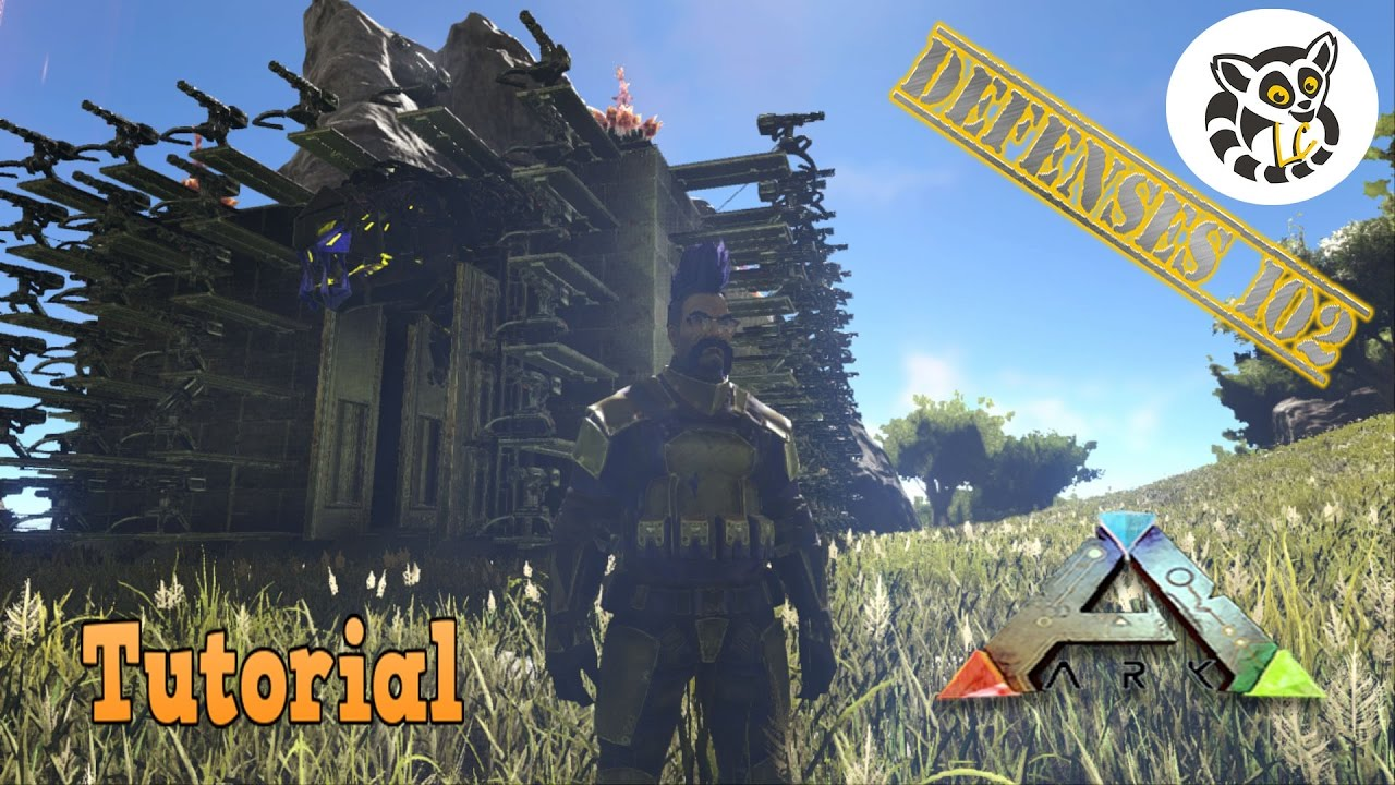Ark: Survival Evolved   Defenses 102   Auto Turrets