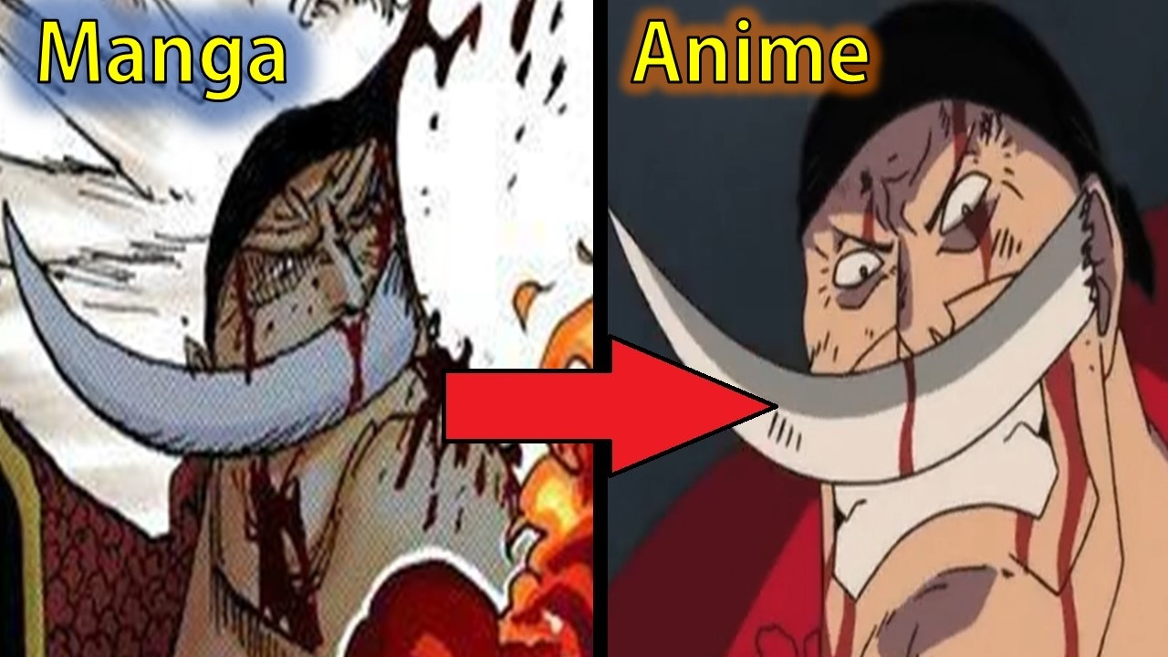 One Piece   5 Manga   Anime Differences   YouTube