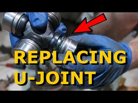 Replacing U Joint on Dodge RAM 1500