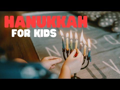 The Story Of Hanukkah | Hanukkah For Kids | Origins Of Hanukkah