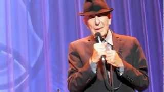 Leonard Cohen - Save The Last Dance For Me, live at Wembley Arena, London 2012