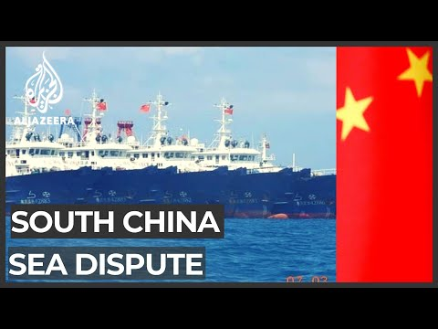 South China Sea dispute: Philippines wants Chinese ships to leave reef