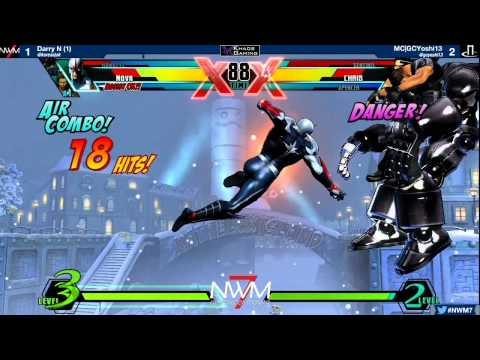 #NWM7 #UMvC3 4v4 Exhibition - Seattle vs Marvelous Customs