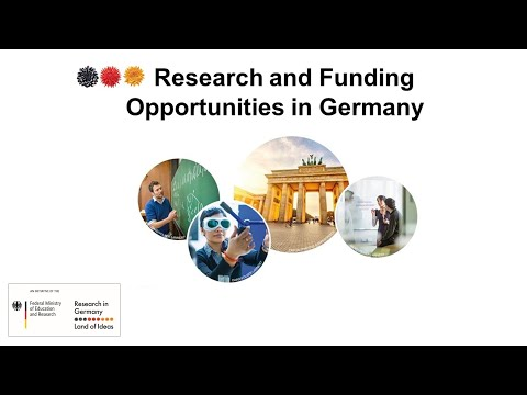 Research and Funding Opportunities in Germany