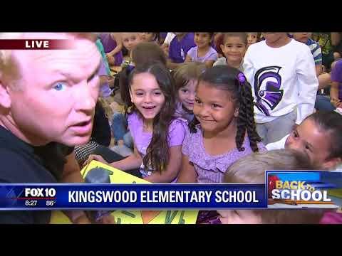 Back to school: Kingwood Elementary School