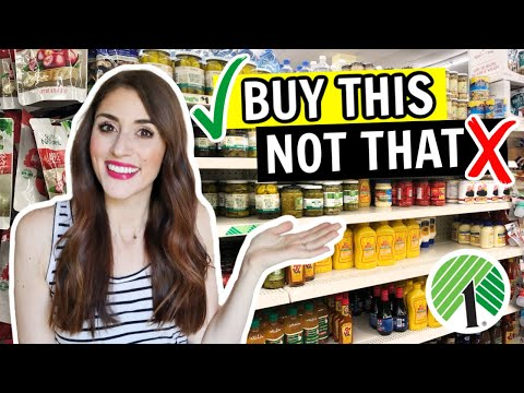 Dollar Tree Foods You SHOULD And SHOULDN'T Buy