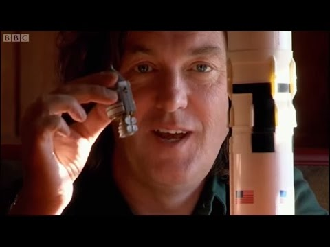 How Did The Saturn 5 Rocket Work? | James May: On The Moon | Brit Lab