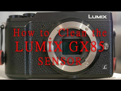 GX85 Sensor Cleaning Project 4k
