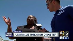 Congregation members react after Phoenix church explosion