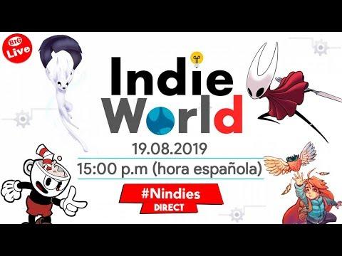 🔴INDIE WORLD 19.08.2019 [Nindies Direct] ¡¡LLUVIA de INDIES!