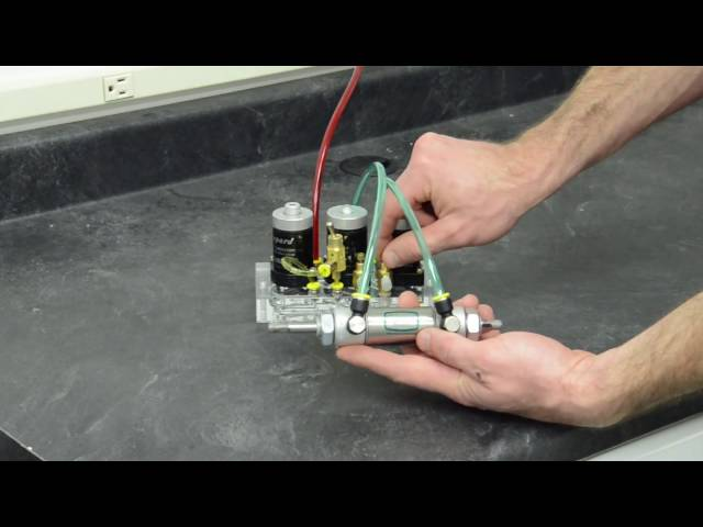 How to Auto Cycle a Double Acting Cylinder Without Limits