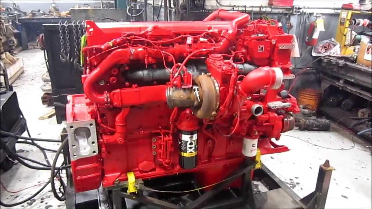 2013 Cummins ISX15 Diesel Engine Running  YouTube