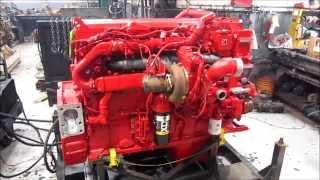 2013 Cummins ISX15 Diesel Engine Running