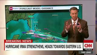 Hurricane Irma intensifies to a Category 4 storm thumbnail