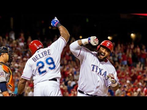 Texas Rangers 2016 Season Highlights
