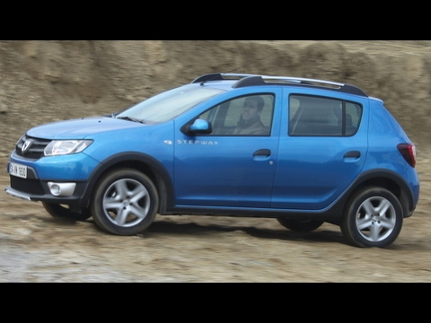 test dacia sandero stepway youtube. Black Bedroom Furniture Sets. Home Design Ideas