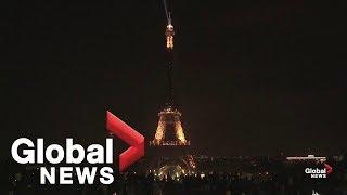Eiffel Tower goes dark to honour victims of Sri Lanka terror attacks
