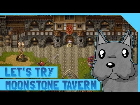 LETS TRY MOONSTONE TAVERN - A FANTASY TAVERN SIM! ScottDogGaming