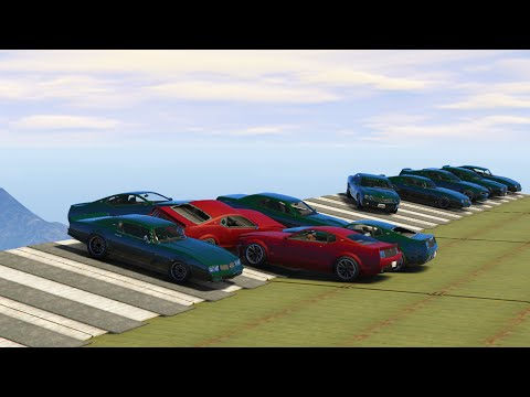 SKY PLATFORM CAR DERBY! (GTA 5 Funny Moments)