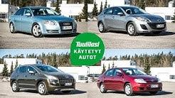 Käytetyt ongelmatapaukset (8 000-10 000 €): Audi A4 / Mazda 3 / Peugeot 3008 / Toyota Corolla