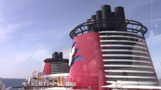 NEW Star Wars Day at Sea Cruise Ship Horn, Disney Cruise Line, Disney Fantasy 1080HD