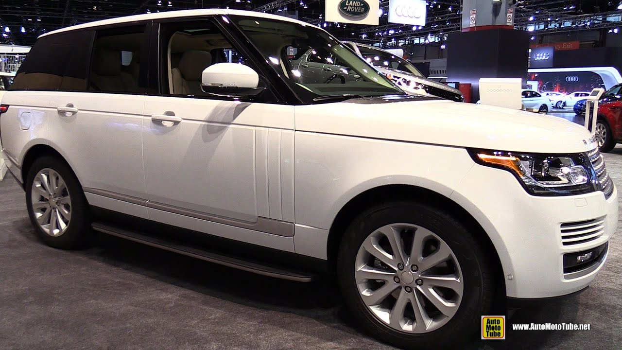 2015 Range Rover HSE Exterior and Interior Walkaround 2015