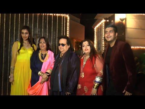 Watch: Bappi Lahiri's 37th Wedding Anniversary