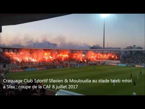 Craquage Public Club Sportif Sfaxien & MC ALGER à Sfax