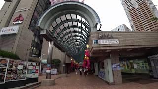 飯田橋RAMLA みやこばし前から2F アーケードを通りJR線東口へ