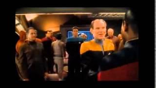 Star Trek DS9 Sisko Gets Promoted