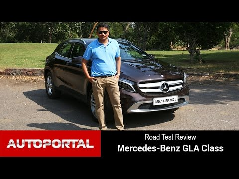 Mercedes-Benz GLA Class Test Drive Review - Autoportal