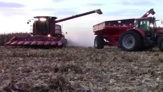 case ih 2588 axial flow shelling corn
