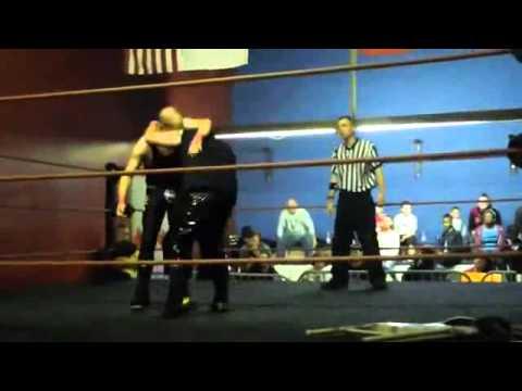 Pier 6 Wrestling Nightmare on King Street David Fennway vs Joe O' Connor