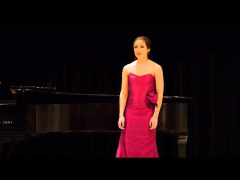 "George Gershwin's ""Summertime"" from Porgy and Bess, sung by Jessica Pray"