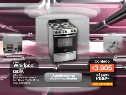 Cocina whirlpool wfx56x youtube for Encendido electronico cocina whirlpool