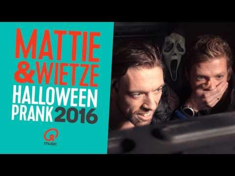 Halloween: Mattie & Wietze pranken...