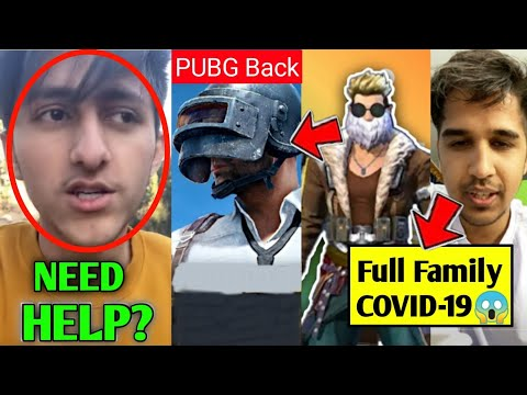 As Gaming need help. Total gaming react on Pubg back. Desi Gamers full Family health issues. LOUD