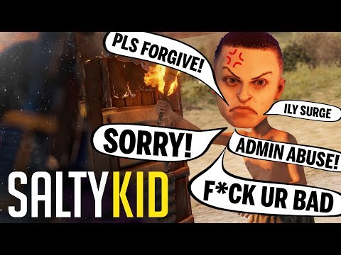SALTIEST KID EVER COMES CRAWLING BACK - Rust Solo ish