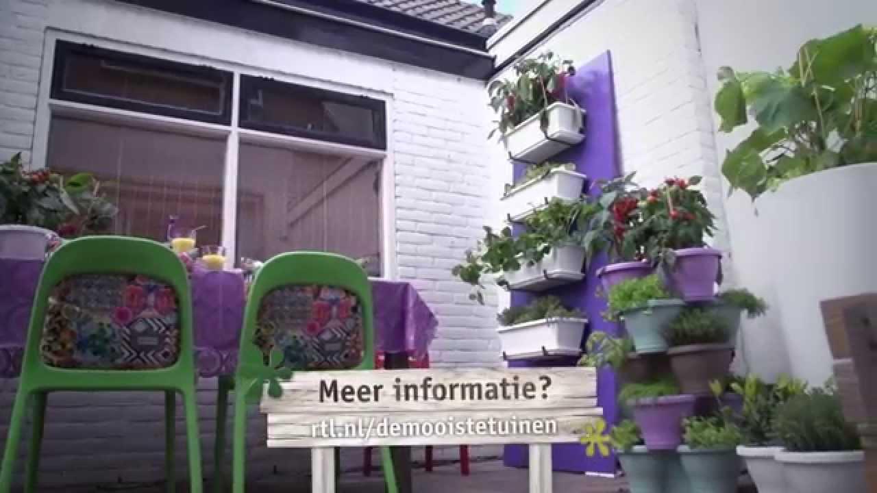 Verticale Tuin Intratuin : Verticaal tuinieren youtube