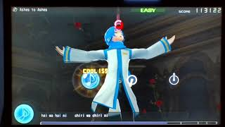 Hatsune Miku: Project DIVA F - Ashes To Ashes (Easy)