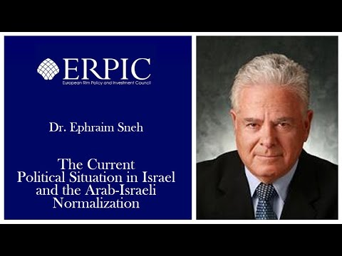Current Political Situation in Israel and the Arab-Israeli Normalization