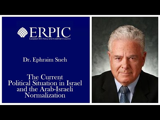 The Current Political Situation in Israel and the Arab-Israeli Normalization