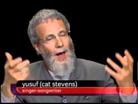 Yusuf Islam On Charlie Rose Part 1