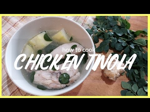 How to Cook Chicken Tinola | Lallie Cooks | Lallie Peralejo