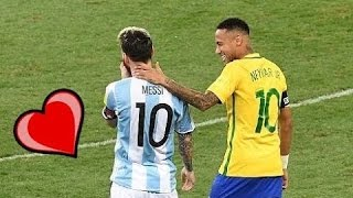 lionel messi and neymar jr great moments 2016