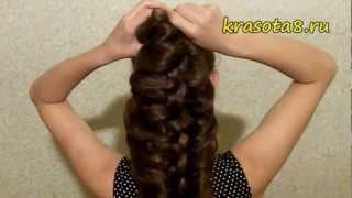 видео Французская коса - 143 фото и схемы как плести косу